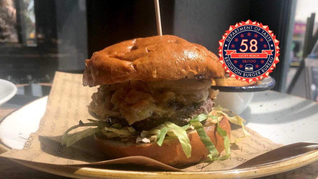 Brighton Burger Bureau Lucky Beach Header Brightons Best Burgers