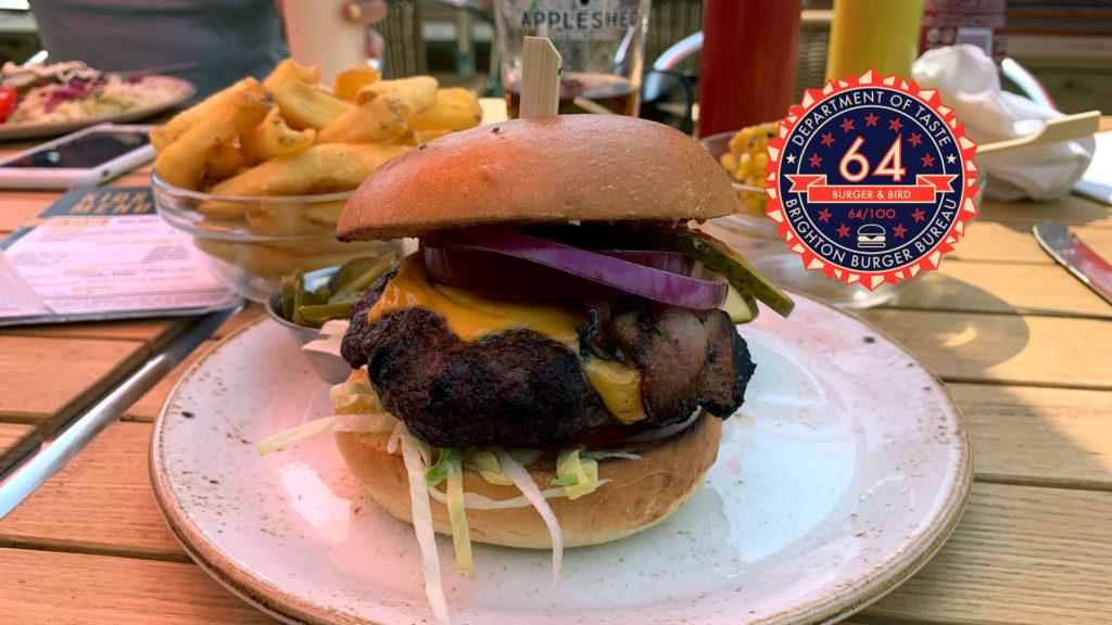 Brighton Burger Bureau Burger & Bird - Peacehaven Brightons Best Burgers
