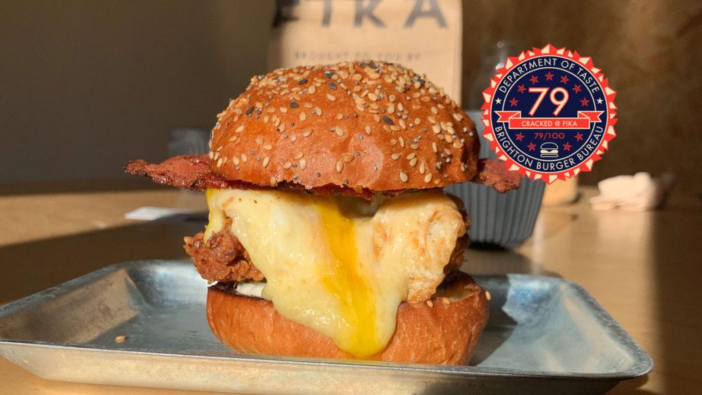 Brighton Burger Bureau FIKA Brightons Best Burgers